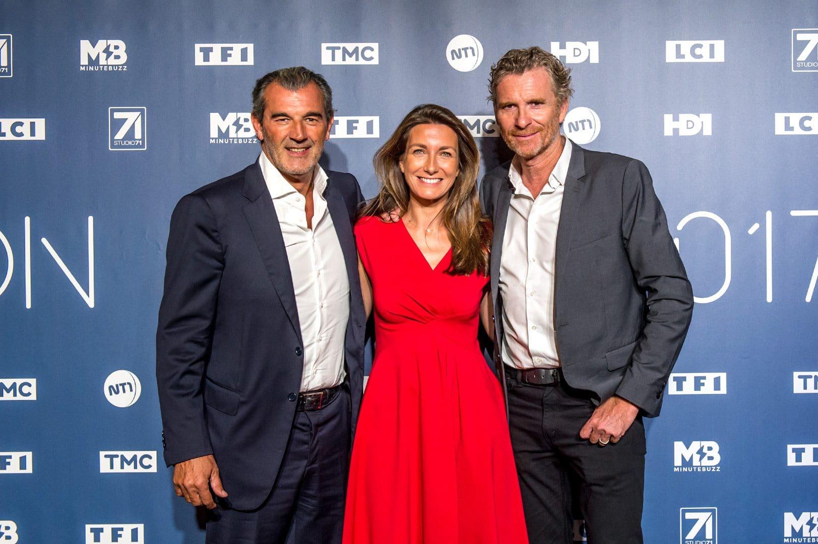 Dîner de rentrée photocall TF1